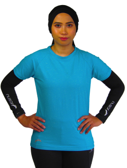 Quick Dry Sports Tee LIGHT BLUE