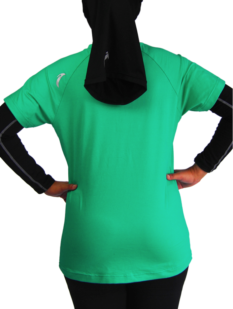 Quick Dry Sports Tee GREEN