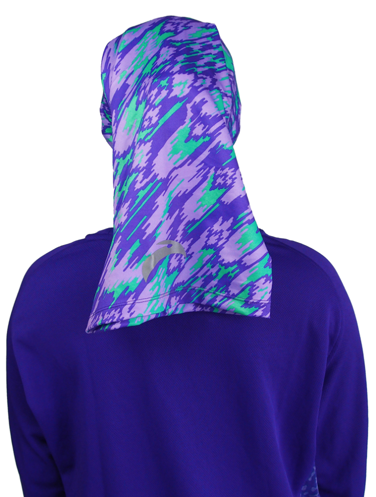 Cool Breeze Sports Tube | 01 - 6004 - Camo Purple