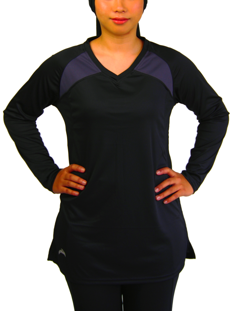 Atheleisure EZ TOP -  BLACK